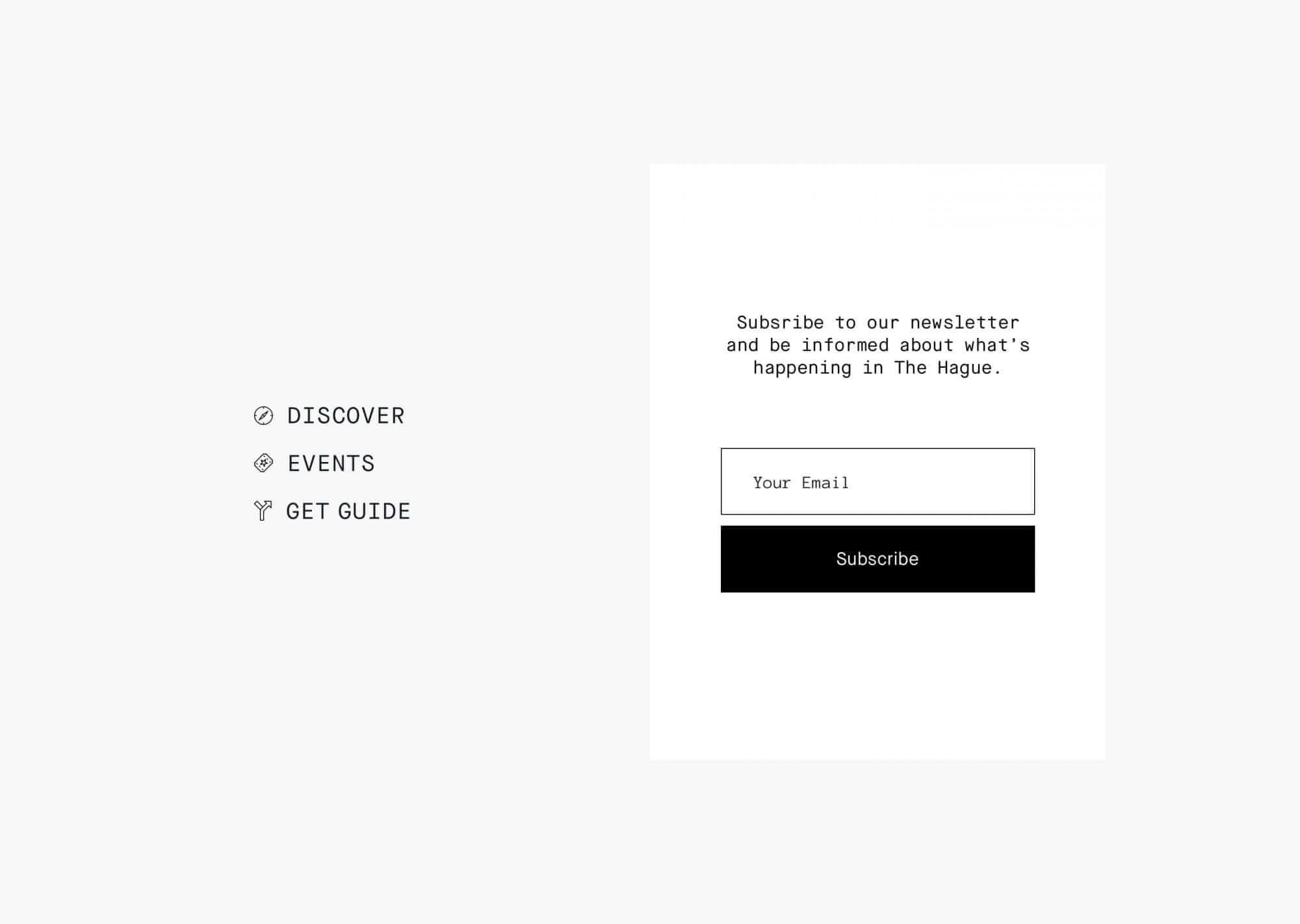 newsletter & menu2